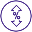 Adjustable Rate Home Loans Icon